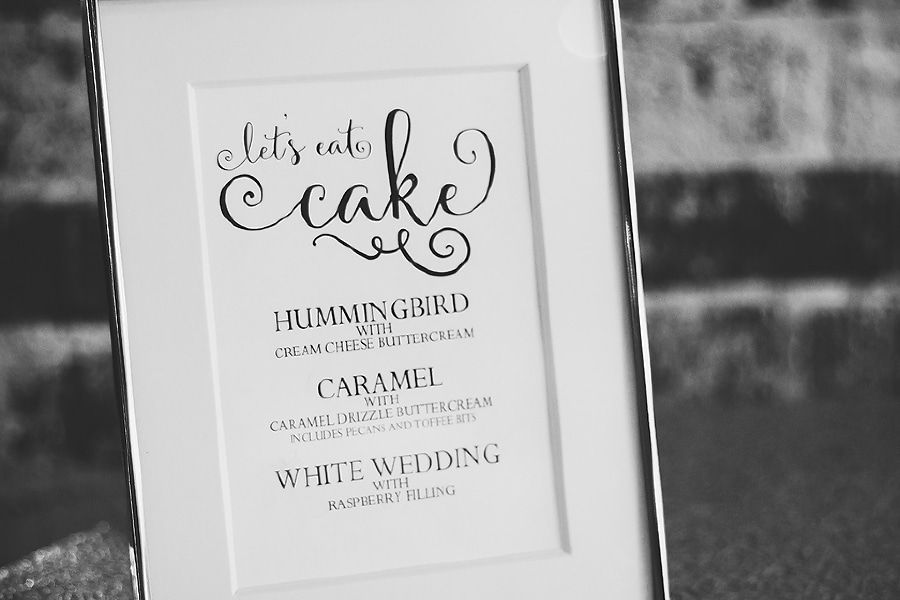 Let's eat cake, wedding cake flavors