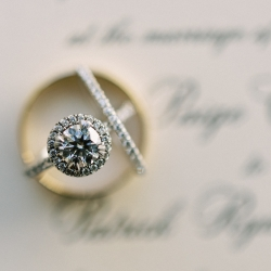 Bridal jewelry is the perfect detail shot captured by Krystal Kast Photography