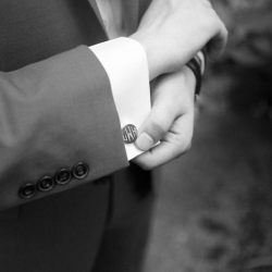Maggie Colleta Photography captures a detail shot of a grooms suit during his fall wedding at Morning Glory Farm