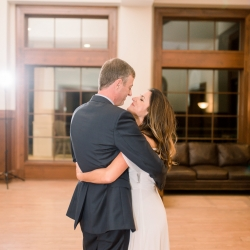 Maggie Mills Photography captures a sweet dance during their reception coordinated by Magnificent Moments Weddings