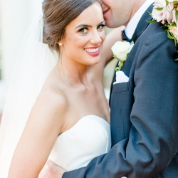 More Beatty Photography captures a bride and groom during their summer wedding at Providence Country Club