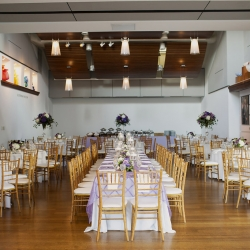 Foundations for the Carolinas serves as the reception site for a stunning spring wedding featured rentals from Party Reflections and florals by Whats Up Buttercup