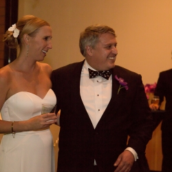 Sharon Ashley Photography captures a bride and groom during their fall wedding at The Bechtler Museum