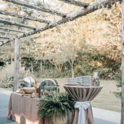 Station buffets created by Delectables by Holly were nothing less than amazing at this full wedding at The Ivy Place captured by Shutter Owl Photography