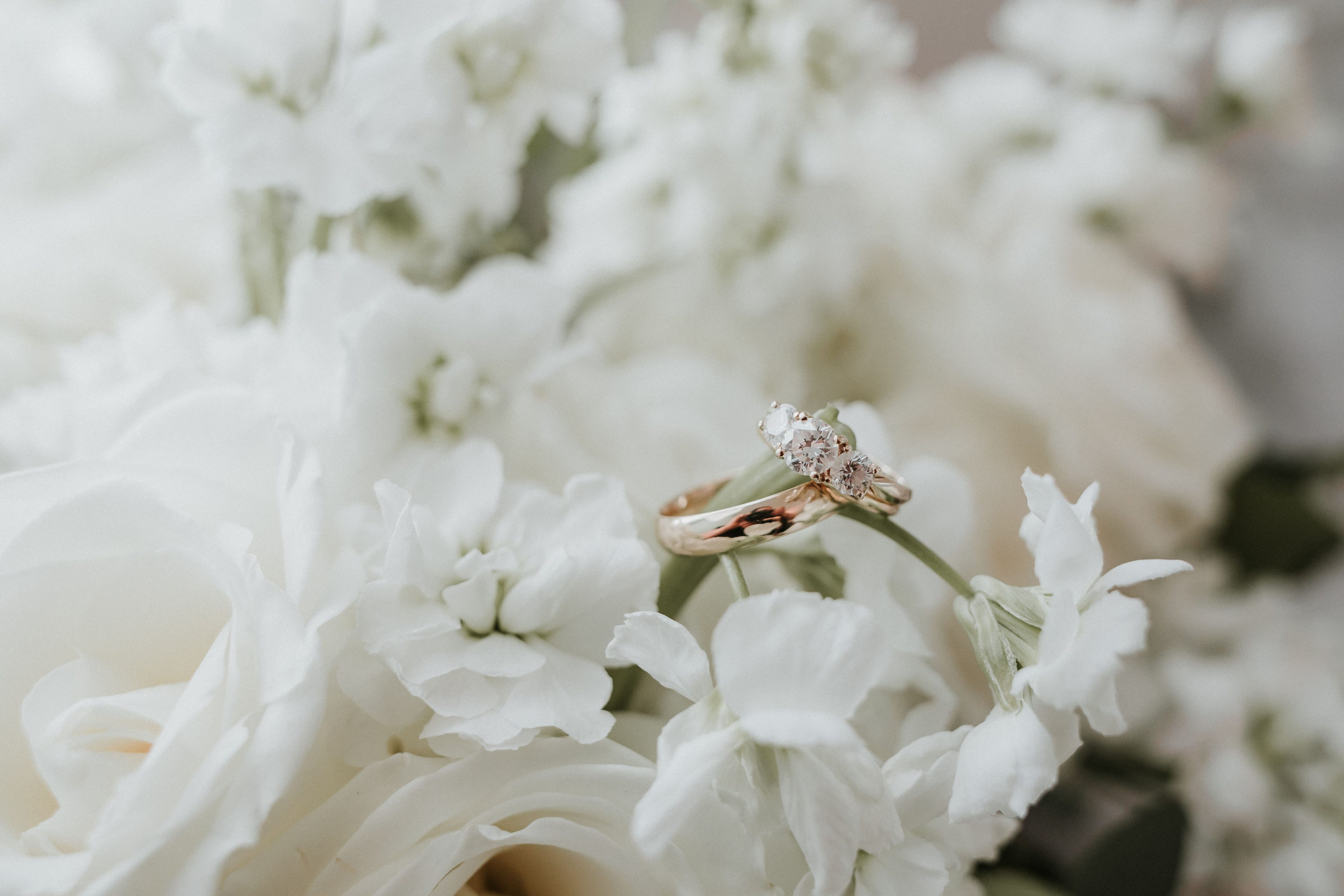 Detail shot of bridal jewelry captured by Shutter Owl Photography for a wedding at The Ivy Place
