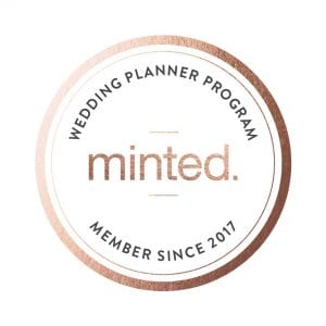 Minted Wedding Planner Program Badge