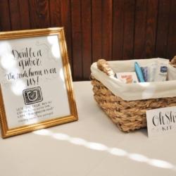 bathroom wedding kits
