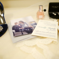 wedding details at the Ballantyne Hotel