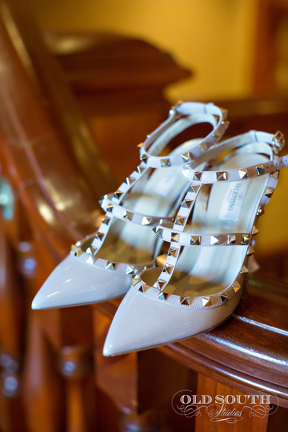 Valentine wedding shoes