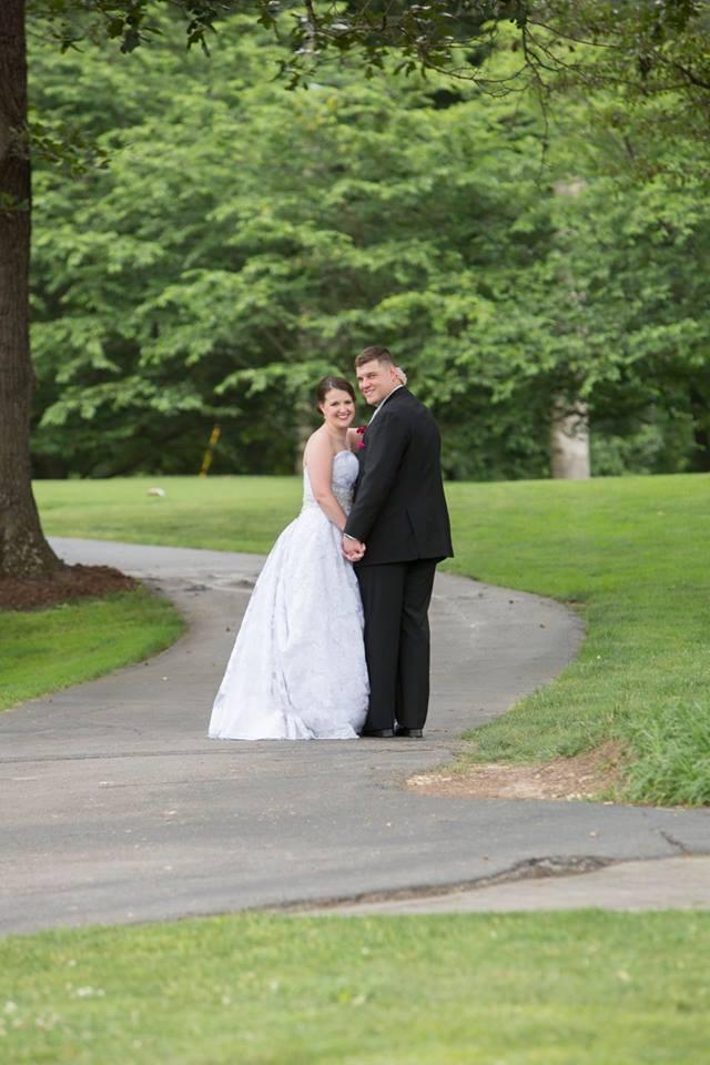 bride and groom formals in Virginia