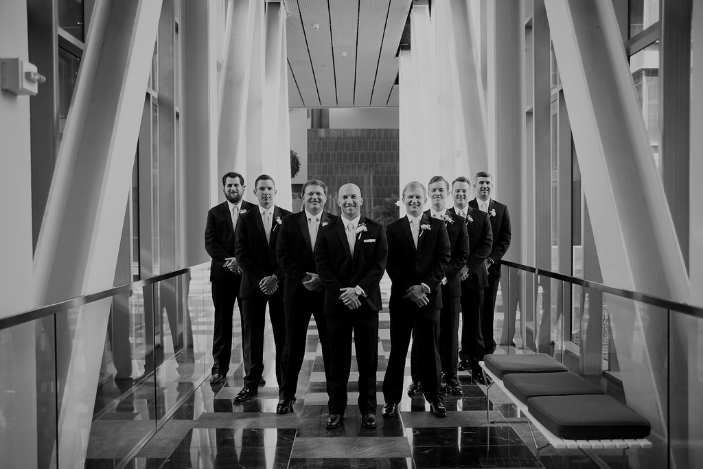 guys wedding portrait
