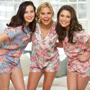 Charlotte Wedding Planners Magnificent Moments Weddings, suggest donning these amazingly cute floral pjs as you and your bridal party prepare for your big day!