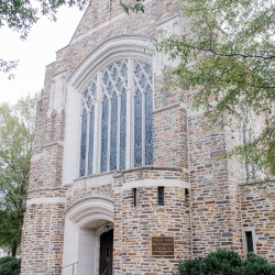 Myers Park United Methodist Church was the perfect setting for a fall wedding coordinated by Magnificent Moments Weddings