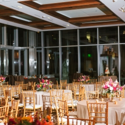 Foundation for the Carolinas serves as the perfect reception space for an elegant fall wedding coordinated and planned by Magnificent Moments Weddings
