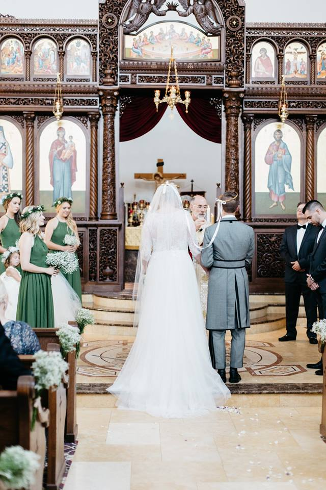 St. Nektarios Greek Church wedding ceremony