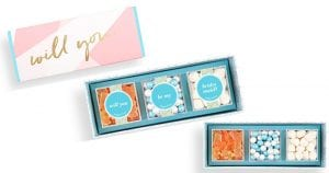 "Sugarfina Bento ""Will you be..."" Boxes"