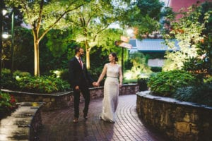 Charlotte Uptown Wedding pictures on The Green by Charlotte Fete Photography coordination by Magnificent Moments Weddings