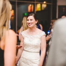 bride dancing during her wedding